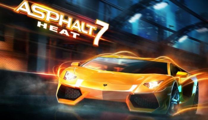 Asphalt 7 heat - лучшие гонки