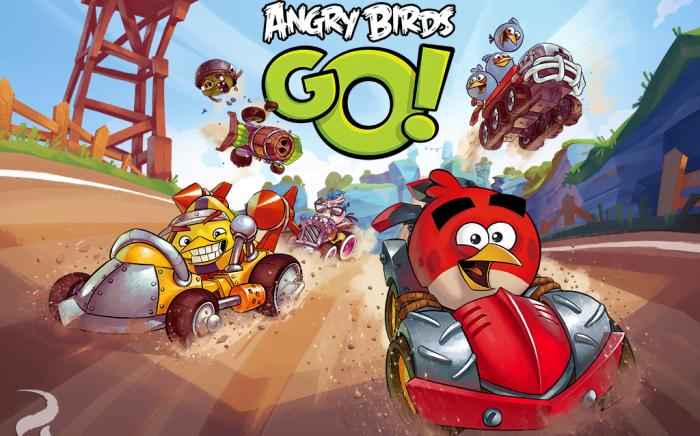 Angry Birds Go - новый формат игры