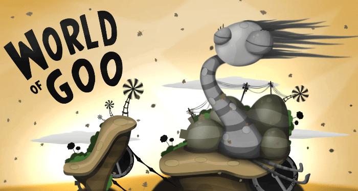 World of Goo – мир жидких субстанций