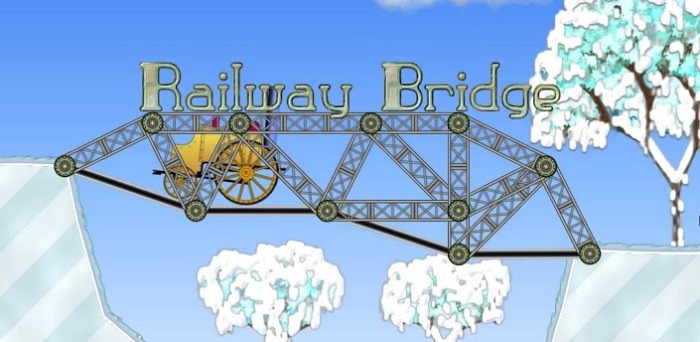 Железнодорожный мост на андроид - игра бомба