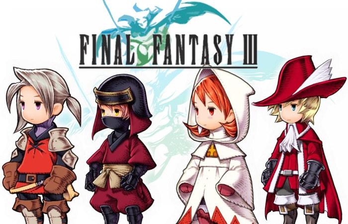 Final Fantasy 3 - знатная РПГ