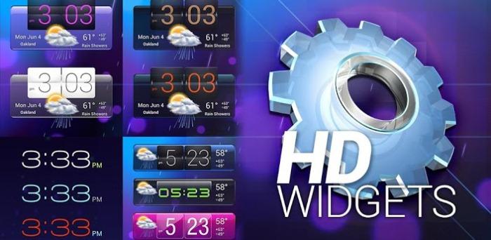 HD Виджеты для андроид