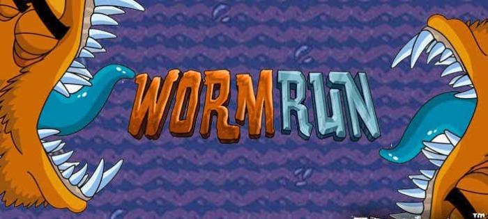 Worm run – убегайте от огромного червя!