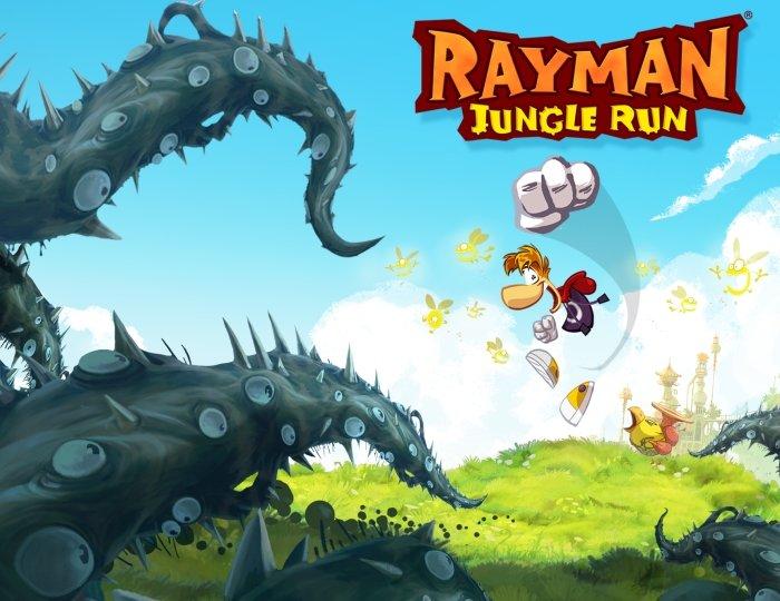 Rayman Jungle Run. Аркадный раннер