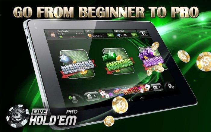 Live Hold'em Poker Pro - игра для профессионалов
