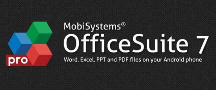 OfficeSuite Pro 7 – полноценный офис-пакет