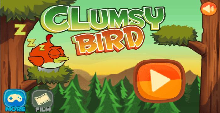 Clumsy Birds - простая и популярная игра
