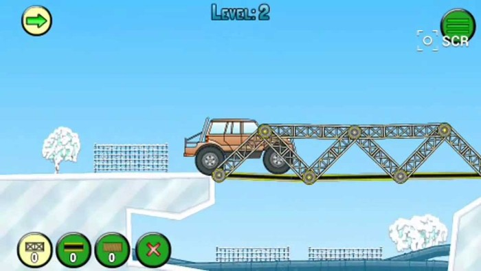скачать Frozen bridges на android