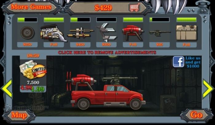 скачать Monster Dash Hill Racer на андроид
