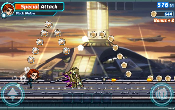 Marvel Run Jump Smash на android - раннер в стиле блокбастеров