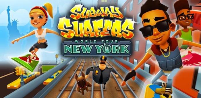Subway SUrfers New-York 1.20 для android гаджетов всех мастей