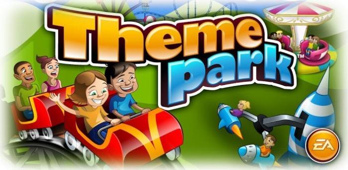 Theme park на Android - построй свой парк со школьницами и блэк джеком