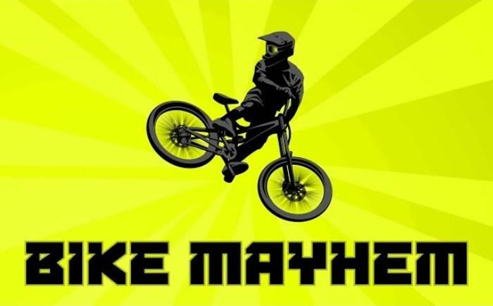 Bike Mayhem Mountain Racing на Android, фрирайд рулит