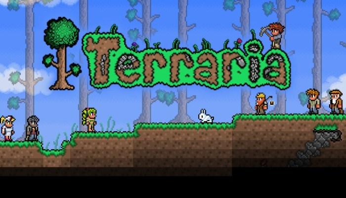 Terraria на андроид, лучшая песочница