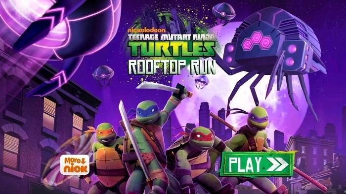 Скачать взломанный TMNT: ROOFTOP RUN на android