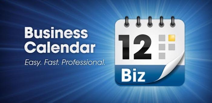 Business Calendar Pro - полезный виджет