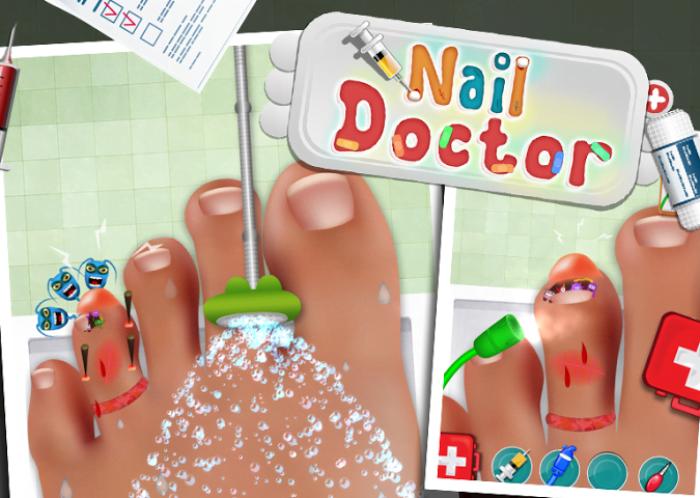 Nail doctor kids game – стань доктором и лечи пациентов!