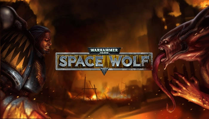 Warhammer 40,000: Space Wolf на android, карточная стратегия