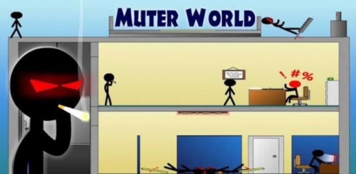 Muter World - Stickman Edition - веселая игра
