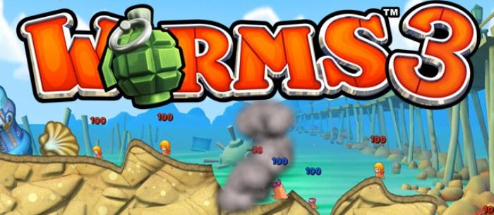 Worms 3 на андроид бесплатно, взлом игры