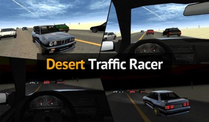 Desert Traffic Racer на ANdroid, пустынные гонки