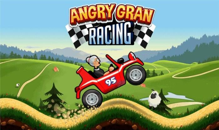 Скачать Angry Gran Racing на android устройства