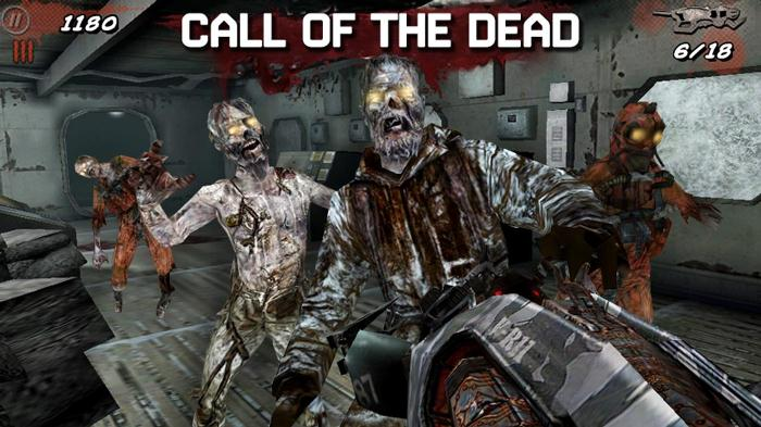 Call of Dead: Duty Trigger 14 стреляй мертвых живцов