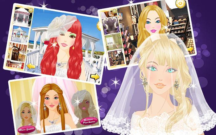 Wedding Spa Salon-Girls Games на android устройство