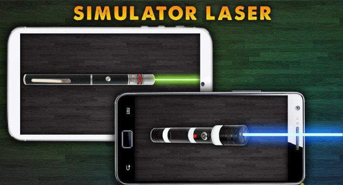 Симулятор Лазерной Указки - лазер для андроид