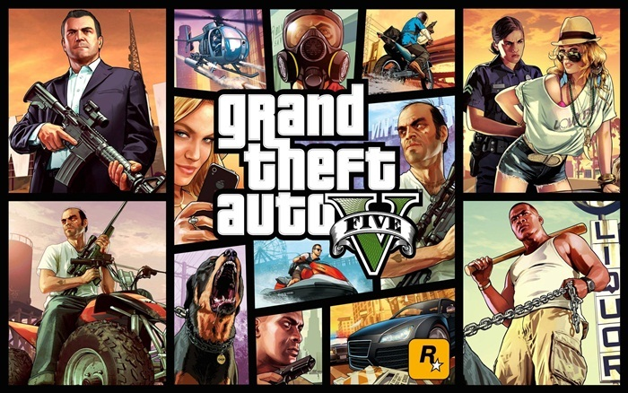 Grand Theft Auto V  на Android