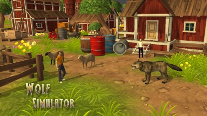 Wolf Simulator - симулятор волка на андроид