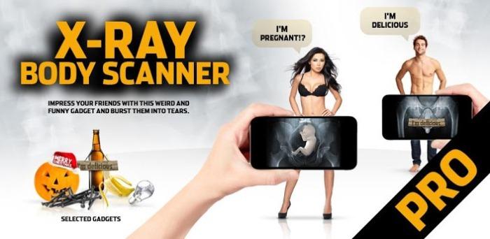 X-Ray Scanner на Android, сканируем всех в подряд!