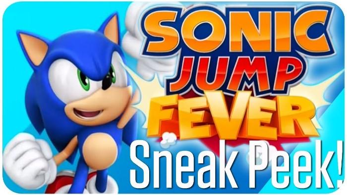 Sonic Jump Fever на андроид, прыгай и ускоряйся