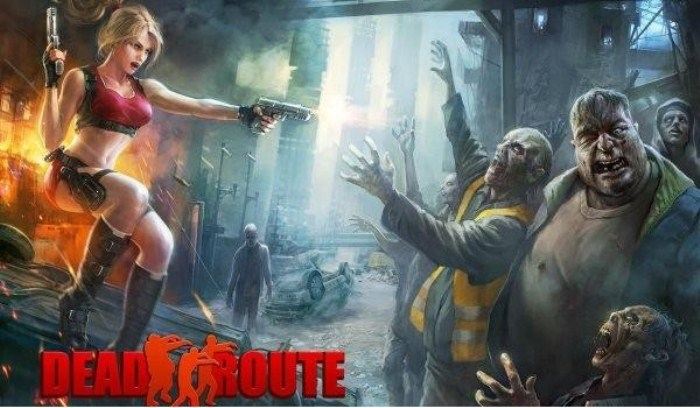 Dead Route на android - стреляй по зомби