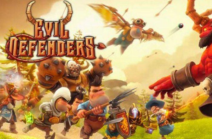 Evil Defenders на андроид - обороняй базу