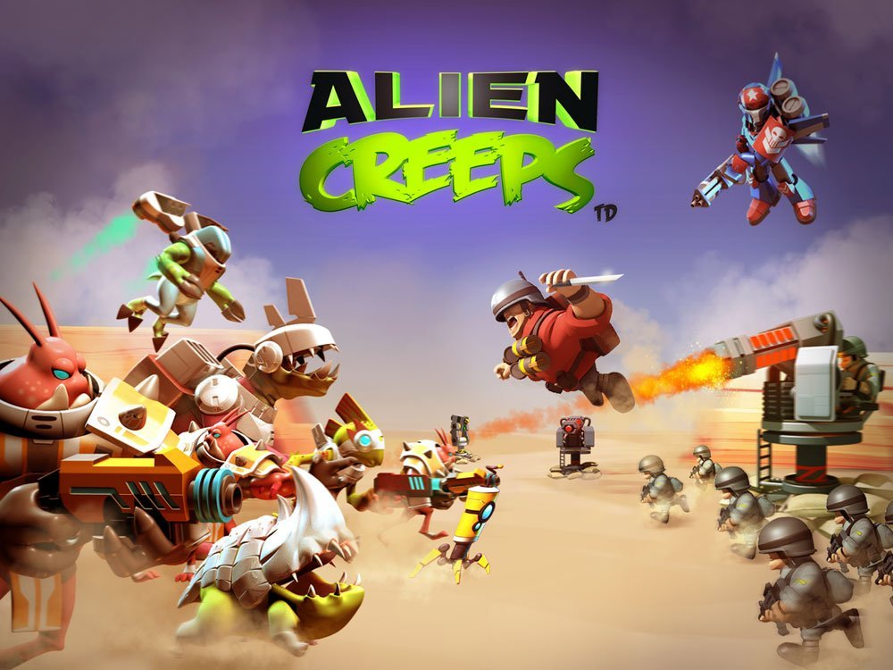 Alien Creeps TD на android