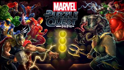 Marvel Puzzle Quest на android. Героическая головоломка!