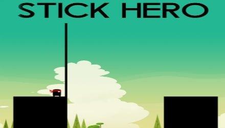 Stick Hero - игра про ниндзю, проходящего платформы