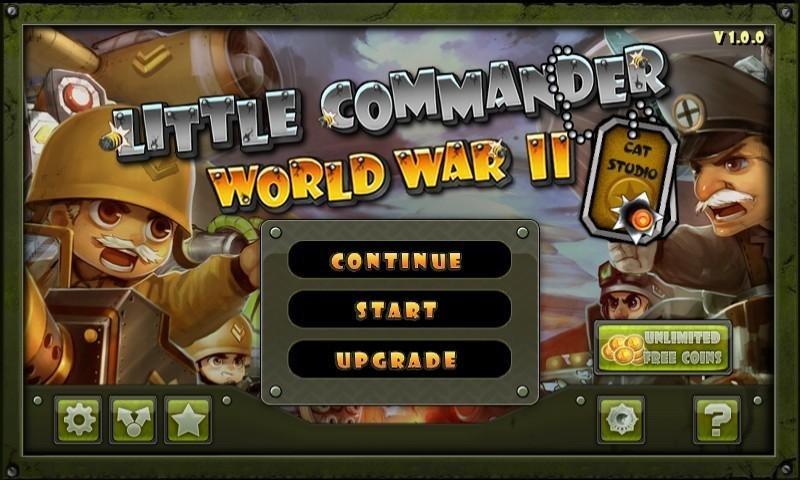 Маленький командир: WWII TD на андроид - защити город! Враг уже близко!