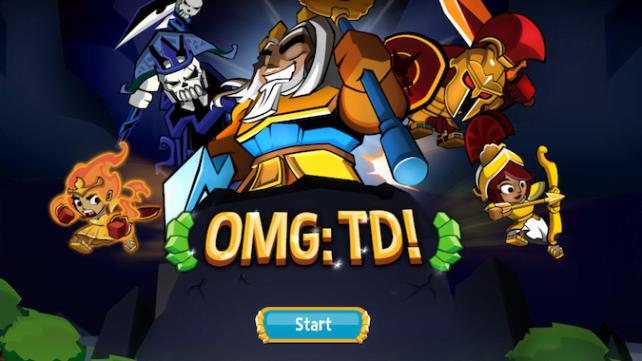 OMG: TD! - сражайся и защищай!