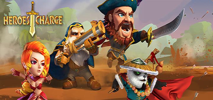 Heroes Charge - приключения в мире неизведанного!