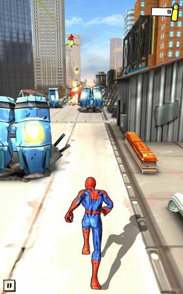 Совершенный человек паук на андроид