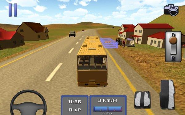 мод Bus Driver 3D на андроид