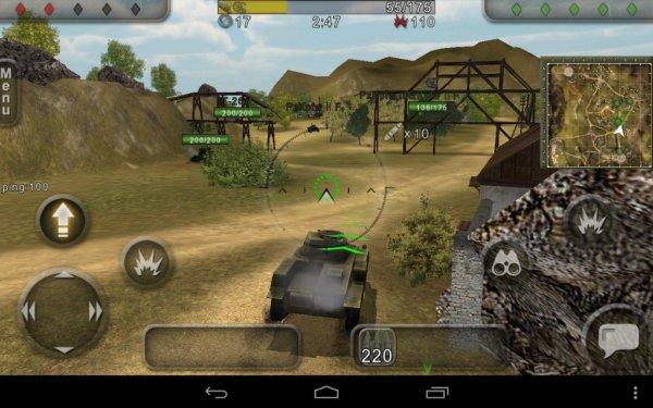 взлом Wild Tanks Online на андроид