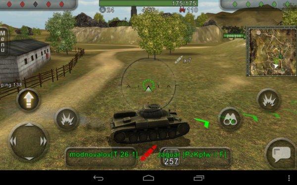 взломанная Wild Tanks Online