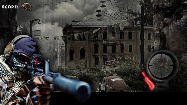 Современный снайпер – Sniper на андроид
