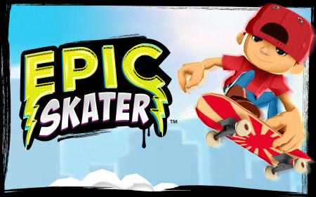 взломанная Epic Skater