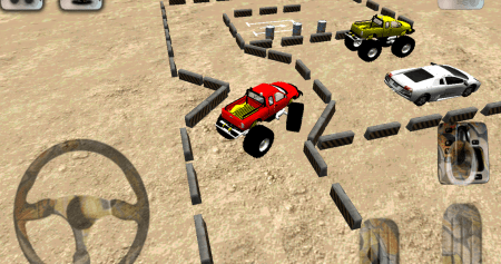 взлом 3D Monster Truck Parking Game
