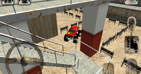 Скачать 3D Monster Truck Parking Game