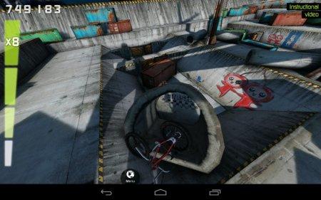 взлом Touchgrind BMX на андроид